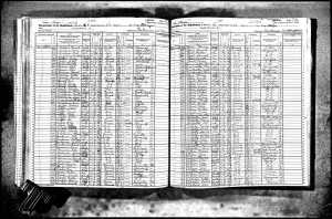 1925 New York Census Record for Citrons and Aptekars